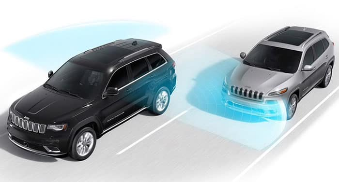 2018 Jeep Grand Cherokee Safety Features