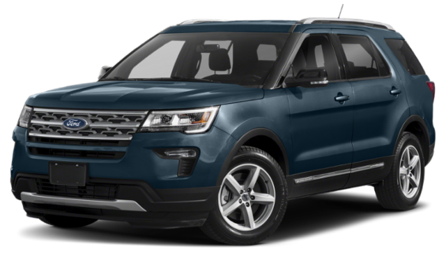 Blue-Green 2019 Ford Explorer Thumbnail