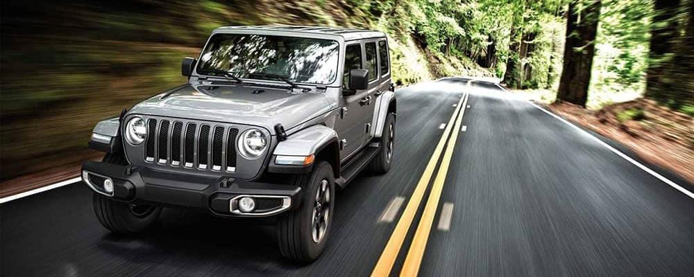 2019 Jeep Wrangler exterior header