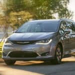 2019 chrysler pacifica on the highway