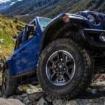 2019 Jeep Wrangler on the mountain