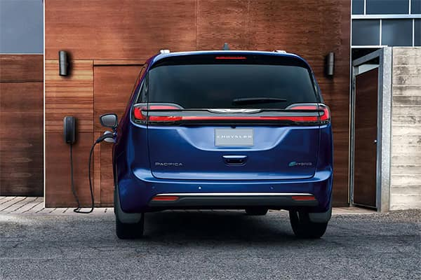 Chrysler Pacifica Hybrid Charging at Home