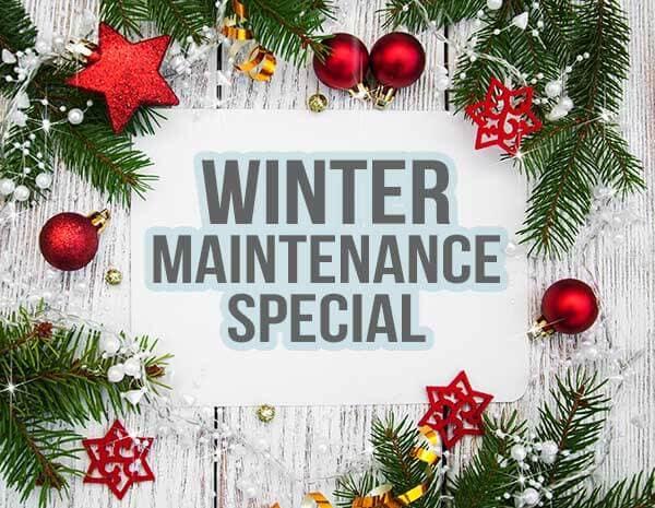 Winter Maintenance Special at Pickering Honda