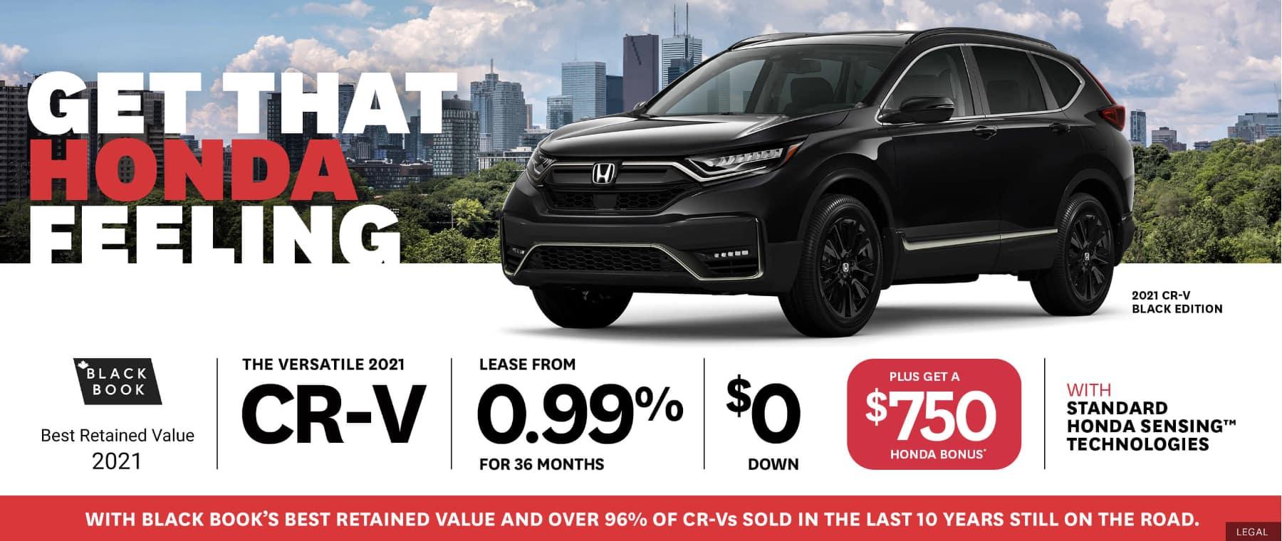 Honda CRV Pickering
