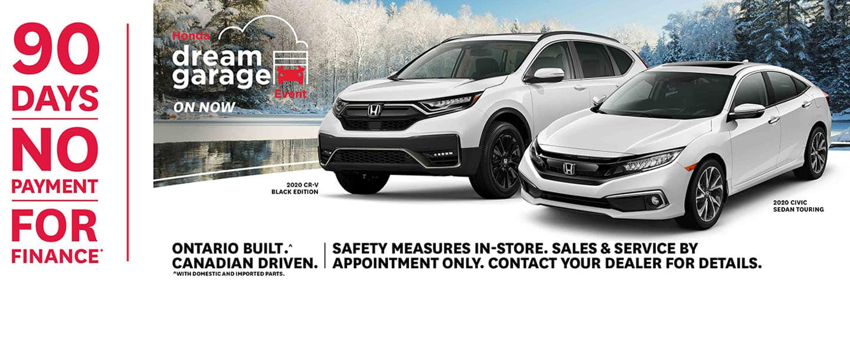 January 2021 Honda Offers and Incentives at Pickering Honda