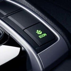 performance efficiency Headlight 2020 Honda Civic at Pickering Honda