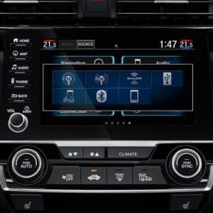 navigation 2020 Honda Civic at Pickering Honda