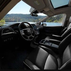 interior 2021 Honda Odyssey at Pickering Honda