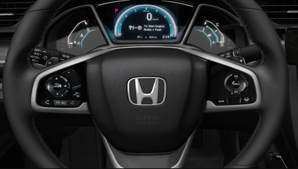 Honda Civic oil life indicator