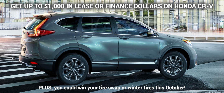 Pickering Honda October CRV Discounts