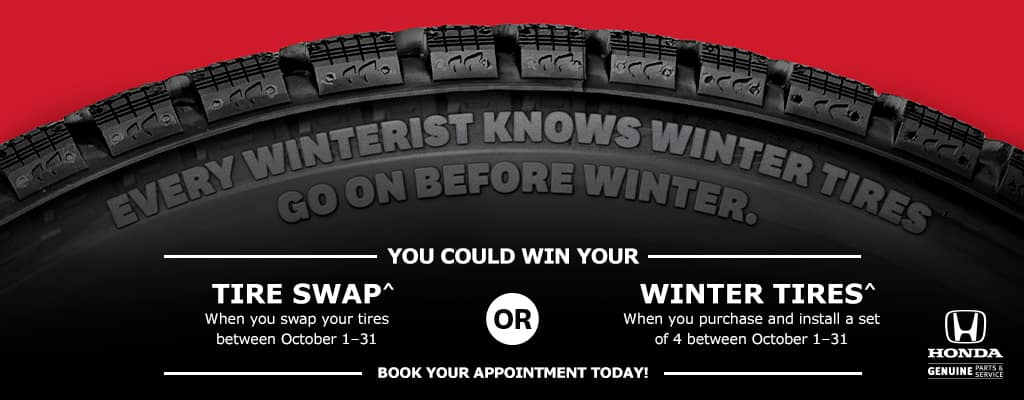 Winter Tire Contest at Pickering Honda in Pickering