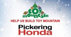 Toy Mountain at Pickering Honda