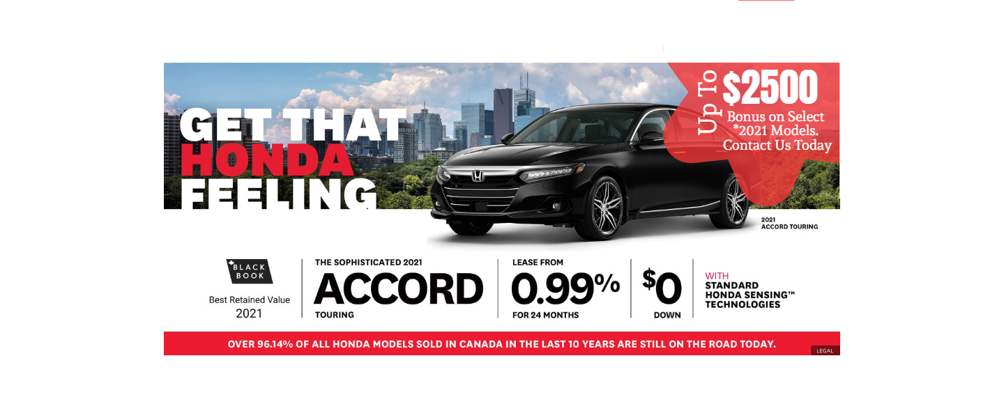 accord july offer