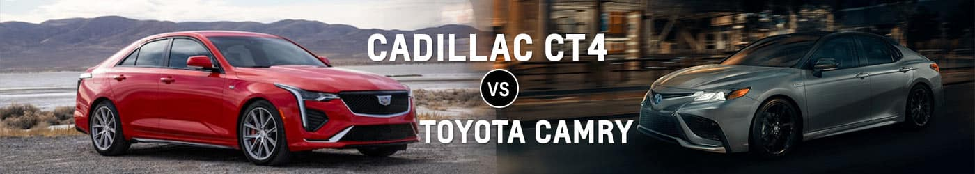 Cadillac CT4 vs toyota camry