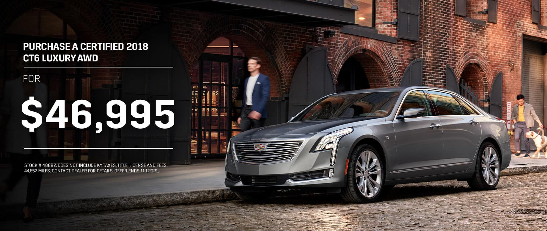 Purchase a Certified 2018 CT6 Luxury AWD For $46,995