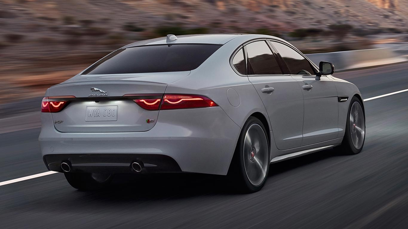 2017 XF Rear view