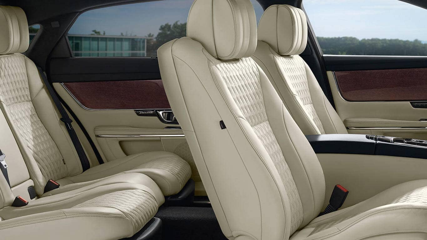 2018 Jaguar XJ Interior Seating