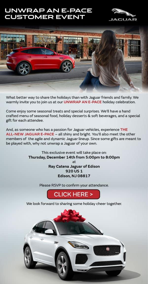 Jaguar E-PACE Launch Party