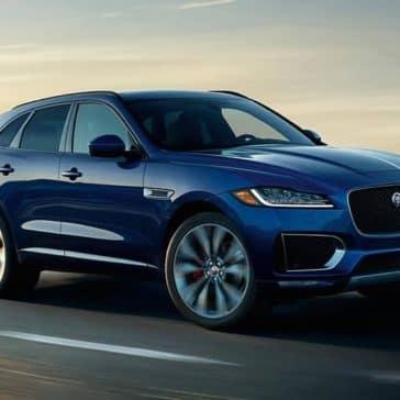 2019 Jaguar F-Pace Exterior Blue