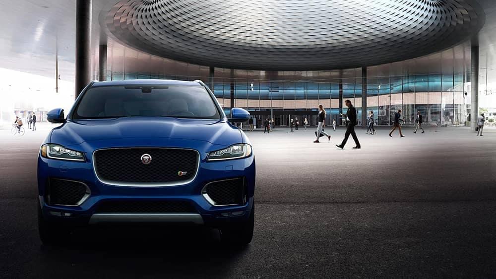 2019 Jaguar F-Pace Exterior Blue Parked