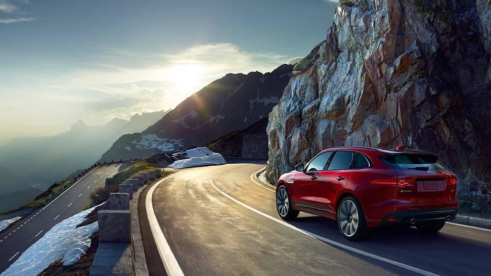2019 Jaguar F-Pace Exterior Driving on Road