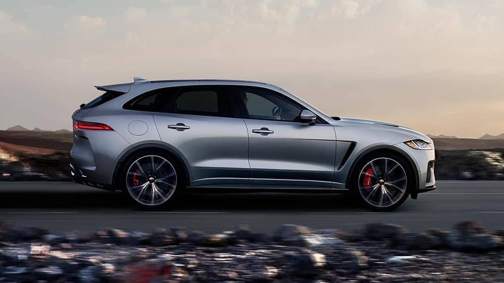 2019 Jaguar F-Pace Exterior Silver