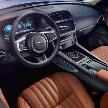 2019 Jaguar F-Pace Interior Dashboard