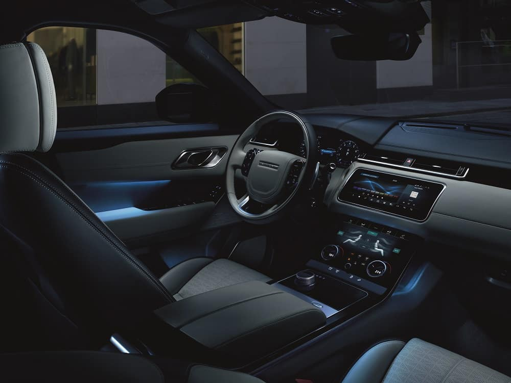 2019 Range Rover Velar Interior Technology