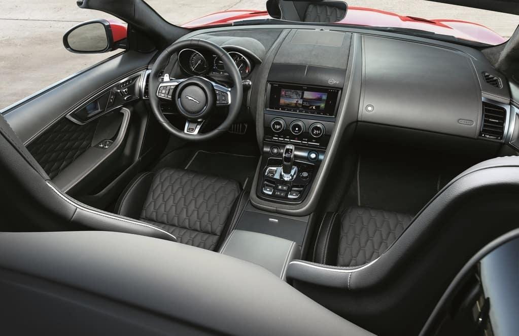 2019 Jaguar F-TYPE Interior