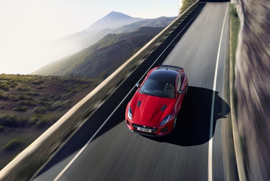 2019 Jaguar F-TYPE Exterior Firenze Red
