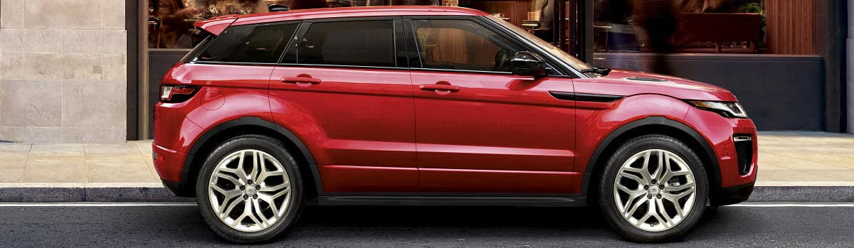 Range Rover Evoque Firenze Red Metallic