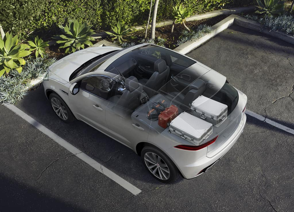 Jaguar E-PACE Cargo Space