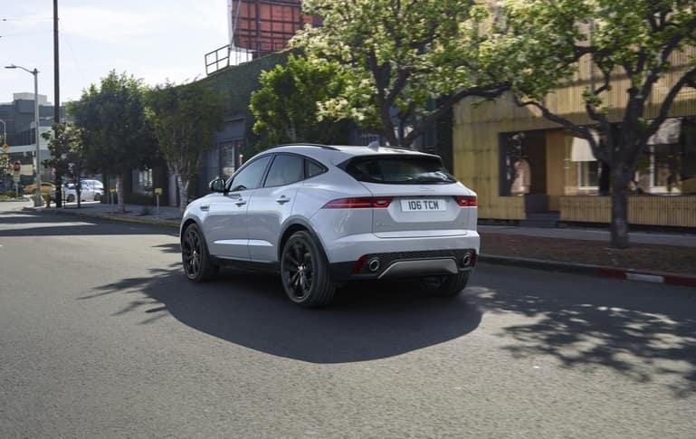Jaguar SUV Exploring