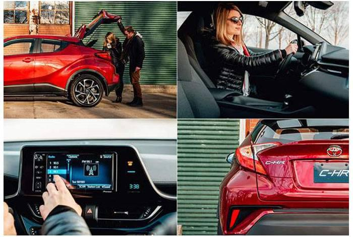 2018 Toyota C-HR Performance Red Deer Toyota