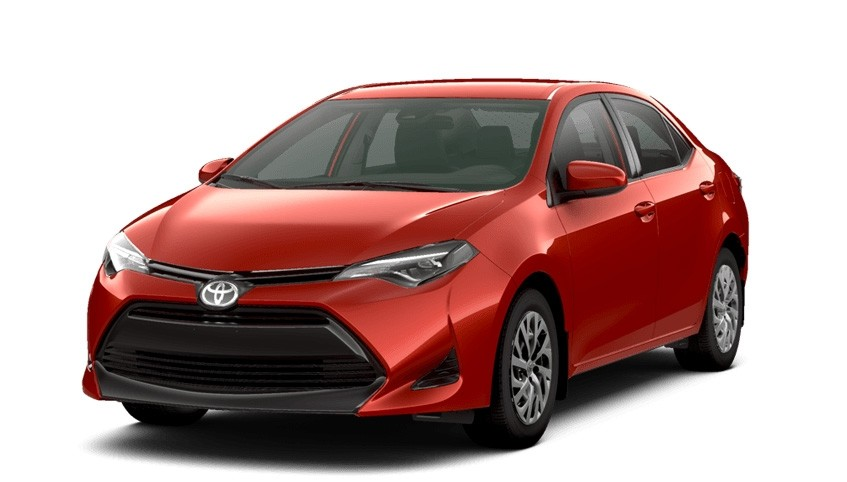 2017 Toyota Corolla Features vs competitors at Red deer Toyota