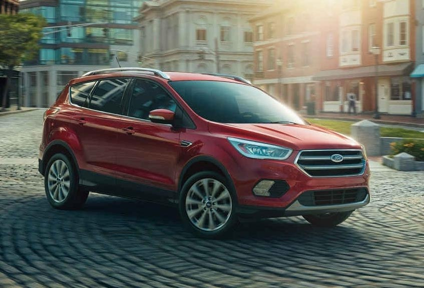 2017 Ford Escape compared to the 2017 Toyota Rav4