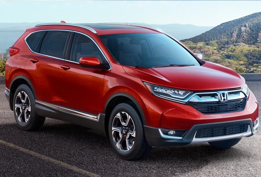2017 Honda CR-V compared to the 2017 Toyota Rav4