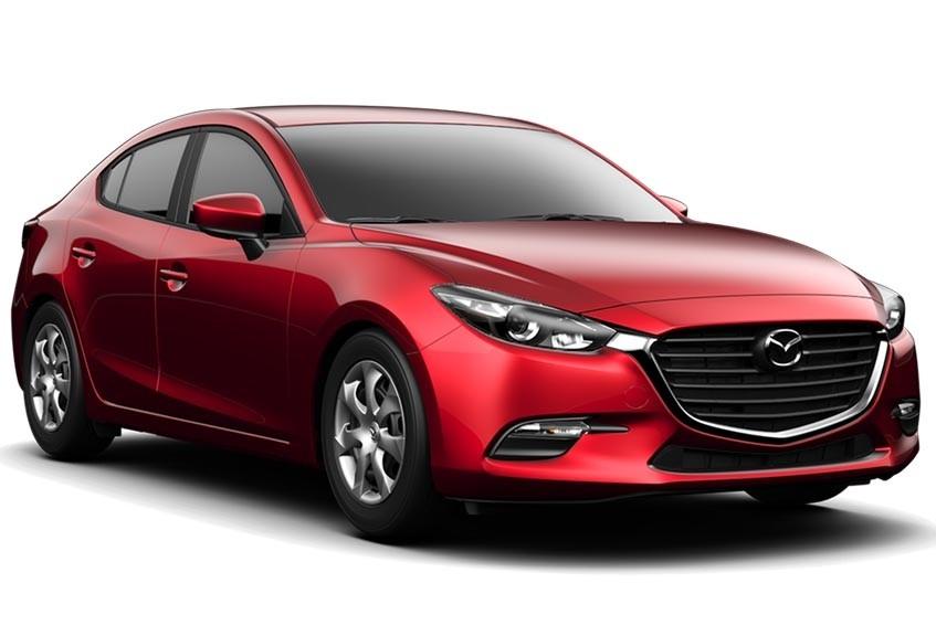 2017 Mazda3 compared to the 2017 Toyota Corolla