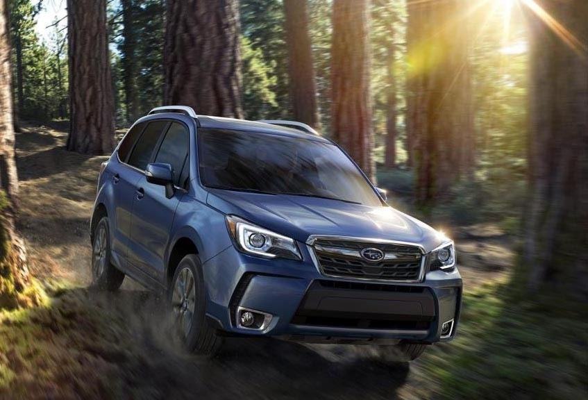 2017 Subaru Forester compared to the 2017 Toyota Rav4