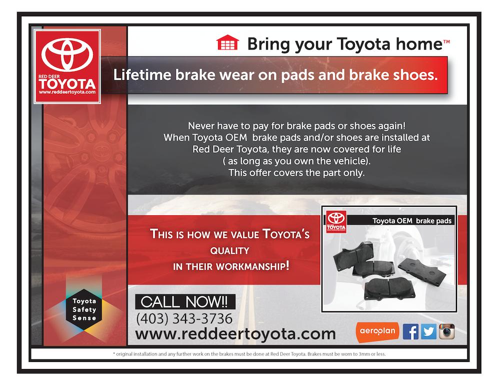 lifetime brake pads