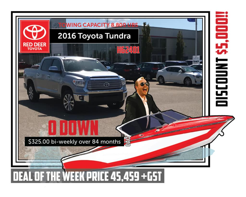 Used 2016 Toyota Tundra 4WD Crewmax Limited 4x4