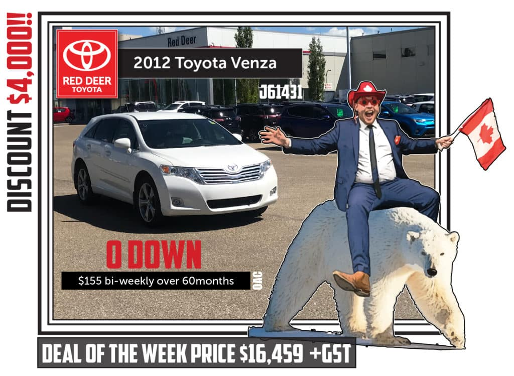 Certified Pre-Owned 2012 Toyota Venza V6 AWD