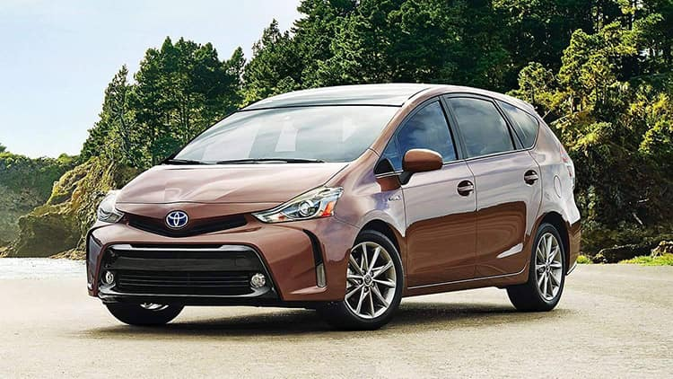 2018 Toyota Prius V Performance overview red deer toyota ab