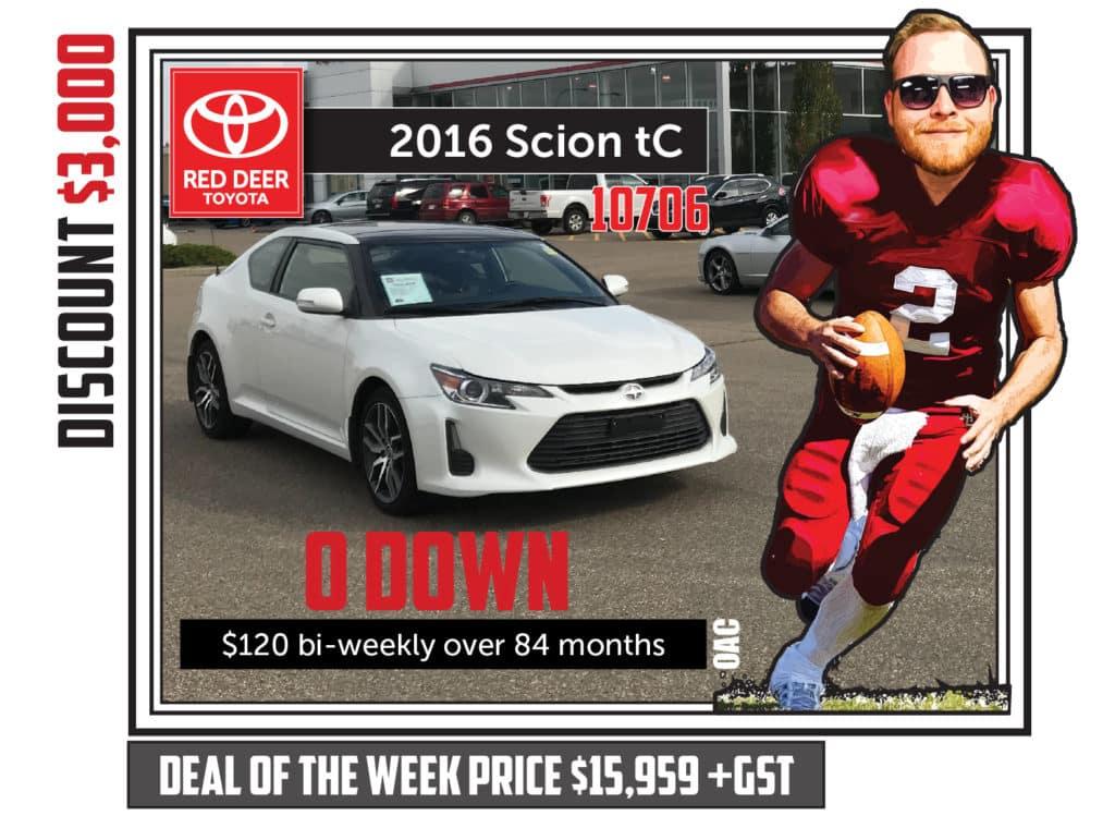 2016 Scion TC