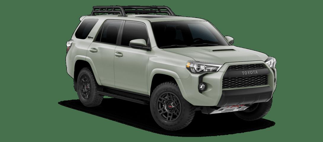 2021 Toyota 4Runner Army Green TRD Pro