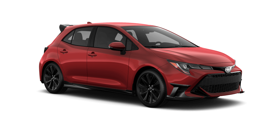 2021 Corolla Hatchback Special Edition in Supersonic Red