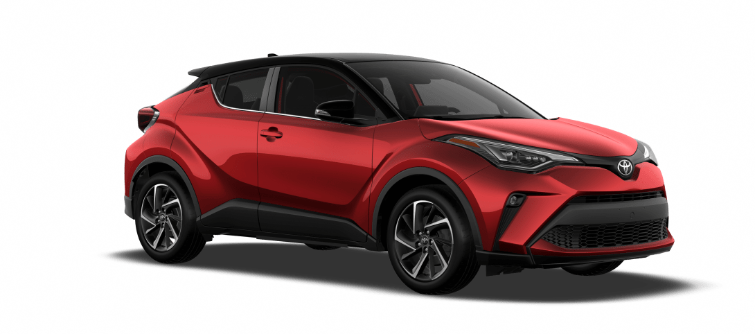 2021 C-HR red with black roof