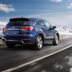 exterior awd with advance package in fathom blue pearl snow mountains