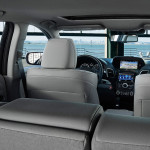 interior with advance package and graystone interior forward from cargo area