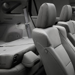 interior with technology package and graystone interior rear seatbacks down